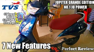 TVS JUPITER GRANDE EDITION Newly Launched 2018