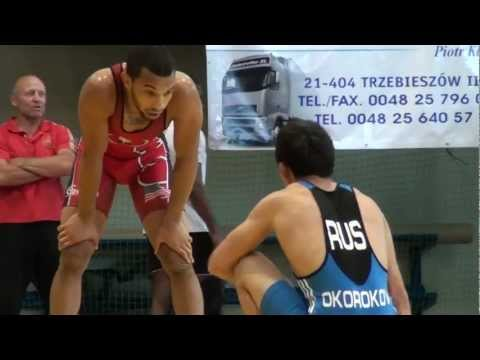 Freestyle Wrestling 55kg - Escobedo (USA) vs. Okorokov (RUS) Image 1