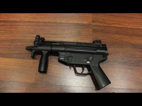 H&K MP5k Softair Review (2,5 Joule) GsP Airsoft GERMAN
