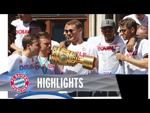 FC Bayern Double Celebration Highlights