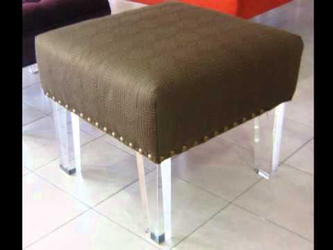 Patas de acrílico para muebles - YouTube