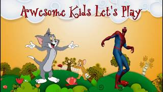 Tom And Jerry, Spiderman, Mickey Mouse Funny Dancing