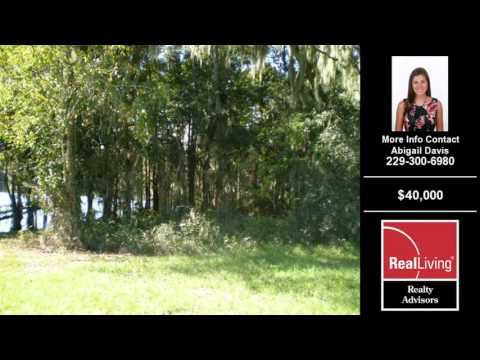 Land For Sale Lake Park GA $40000 Lake Park GA Abigail Davis