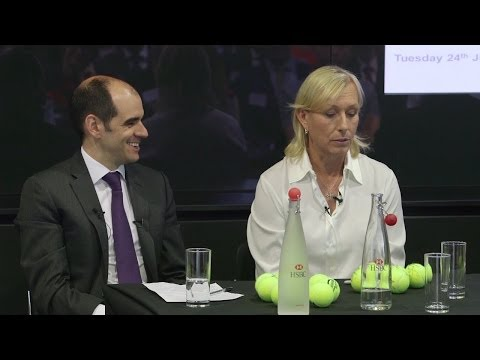 Martina Navratilova on Coming Out and LGBT Rights - HSBC NOW