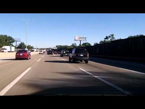 Redneck Road Rage on I-294