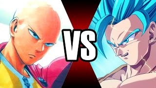 Goku Vs Saitama [Death Battle] WHY IT'S POINTLESS TO COMPARE !