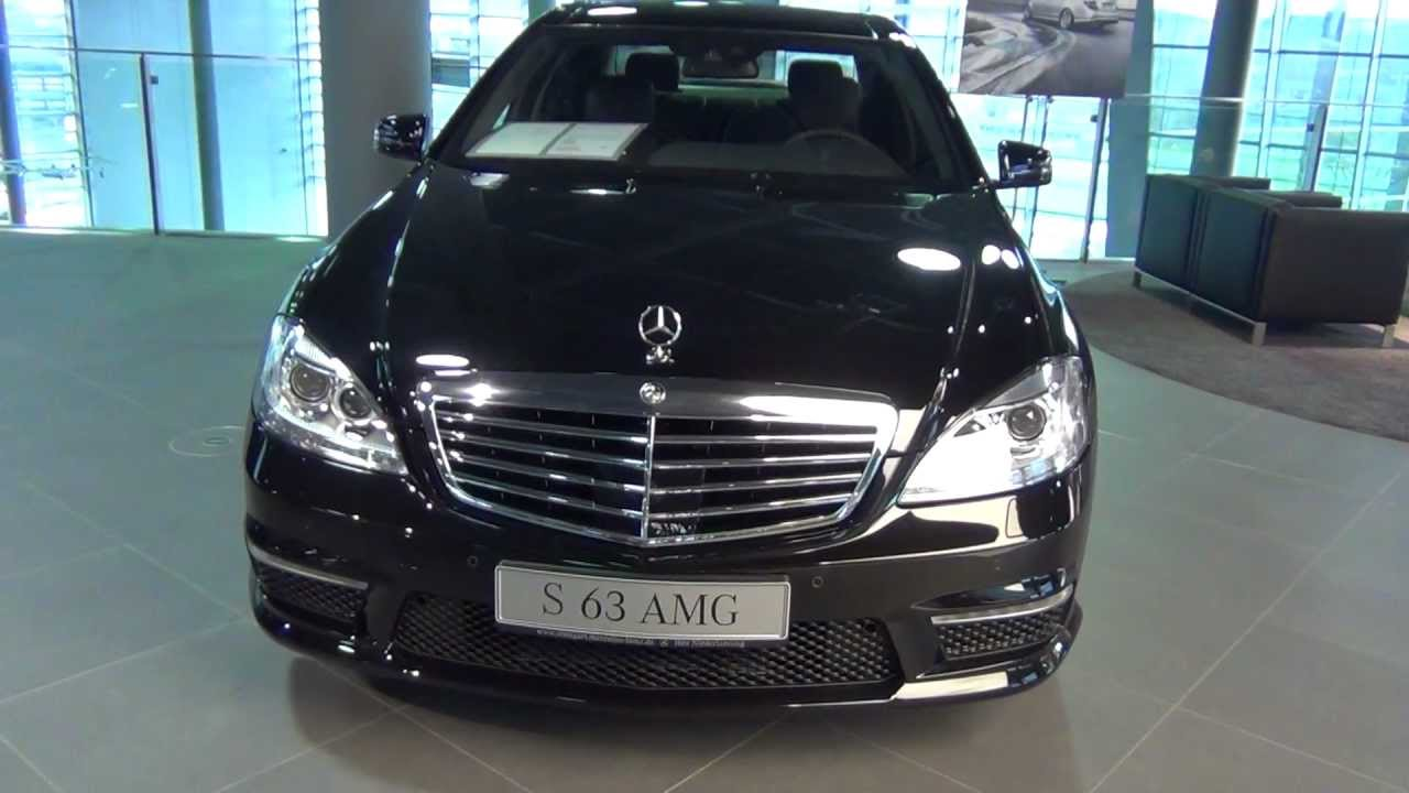 mercedes benz s 63 amg 555 ps youtube