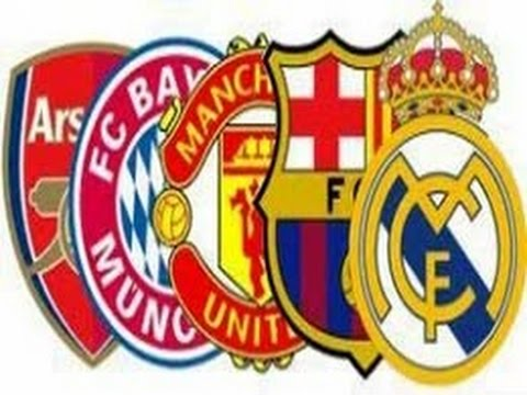 The top 20 Richest Football Clubs  in 2014 --- 2015