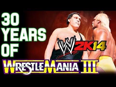WWE 2K14 30 Years of WrestleMania - Hulkamania Runs Wild | Andre The Giant vs. Hulk Hogan