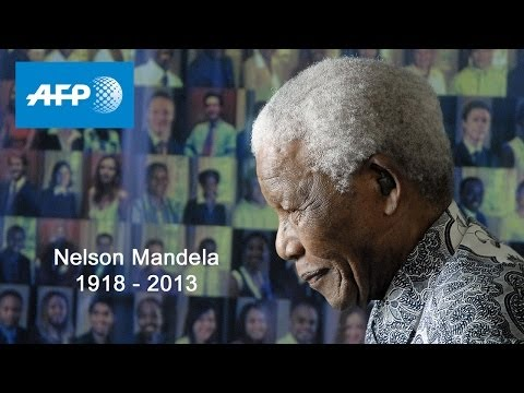 AFP Live - Nelson Mandela : Lying in State in Pretoria - Dec