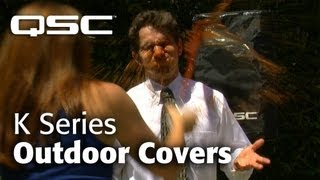 "QSC - ""Take Cover"" (K Series Outdoor Covers)"