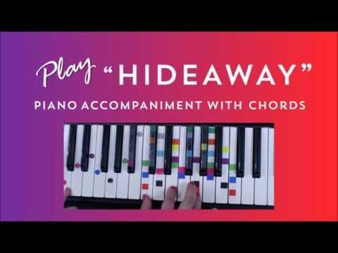 Hideaway - Easy Piano Tutorial - Daya