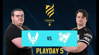 TrainHard vs G2 Esports // Rainbow Six European league 2021 - Stage 1 - Playday 5