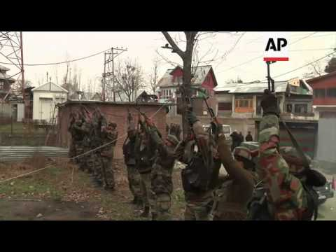 Gunfight erupts between Islamic militants and Indian troops in Indian-controlled Kashmir