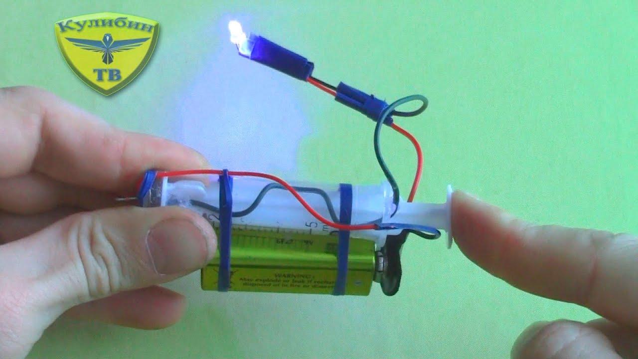 Солнечный лазер своими руками