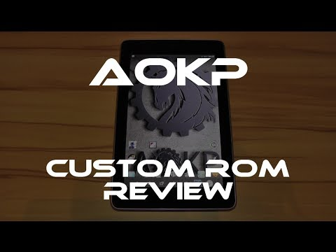 AOKP custom ROM review - better than CM and PA? (Nexus 7)