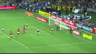 Flamengo 1x1 vasco 2014  narração tv globo
