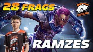 RAMZES666 Anti Mage 28 Frags | Duo Offlane | Dota 2 Pro Gameplay