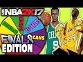 FINALS SPIN THE WHEEL! NBA 2K17 SQUAD BUILDER -