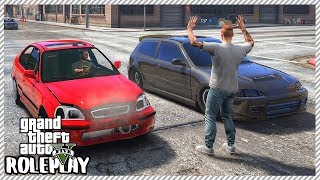 GTA 5 Roleplay - Drag Honda Civic Show Down | RedlineRP #240