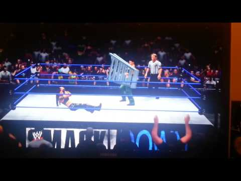 WWE13 AE Lita Vs Lita 1st Smackdown Arena