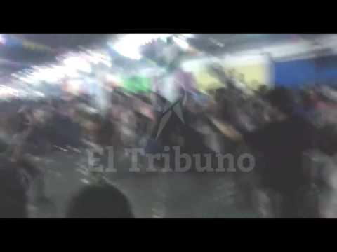 Brutal pelea en una carpa del Valle de Lerma
