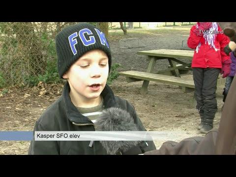 TV-Lolland besøger Skt Birgitta SFO