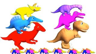 Baby Learn Colours And Have Fun With Dinosaur Colors – Baby Fun Game