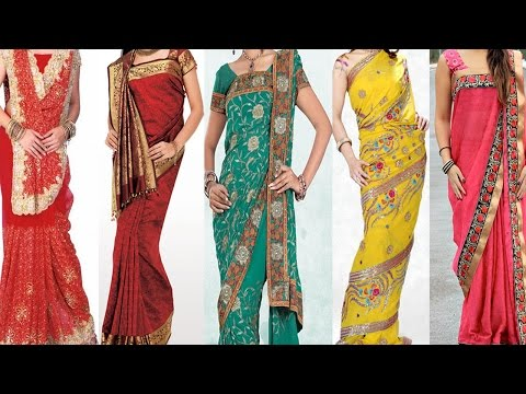 5 Different Ways of Wearing Saree For Wedding to Look Slim & Tall |Tips & Ideas to Drape Saree Pallu thumbnail