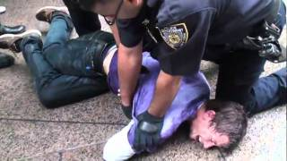 Occupy Wall Street Protesters Arrested (Camera #2)