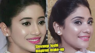 Download Lagu Shivangi joshi Inspired makeup || soft and glowy makeup || shystyles Gratis STAFABAND