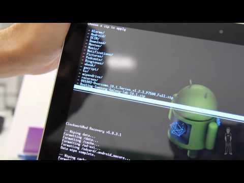 Tablet Samsung Galaxy Tab 10.1 3G. Instalar una ROM