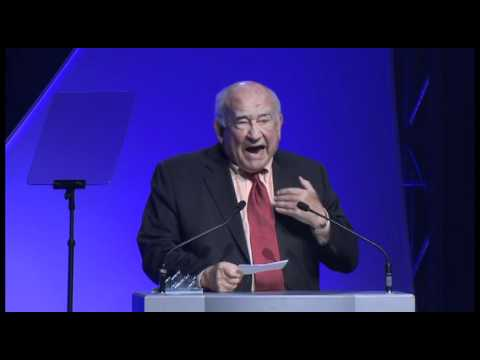Ed Asner BANFF Lifetime Achievement Award Winner Acceptance Speech, Part 2