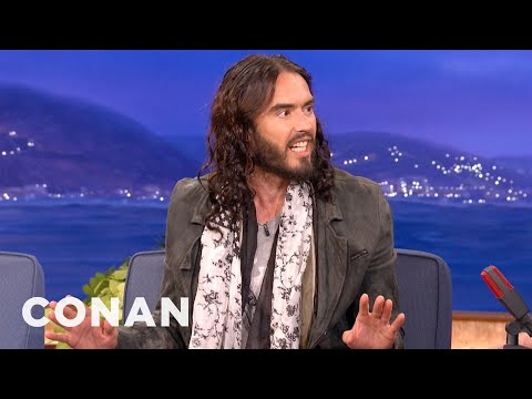 Russell Brand Really Knows That Charlie Sheen Fellow - CONAN on TBS Music Videos