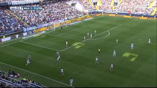 Malaga vs Atletico Madrid 720p HD Full Match Second Half | 11-04-2015