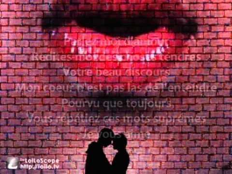 Milva - Parlez-moi d'amour (Lyrics)