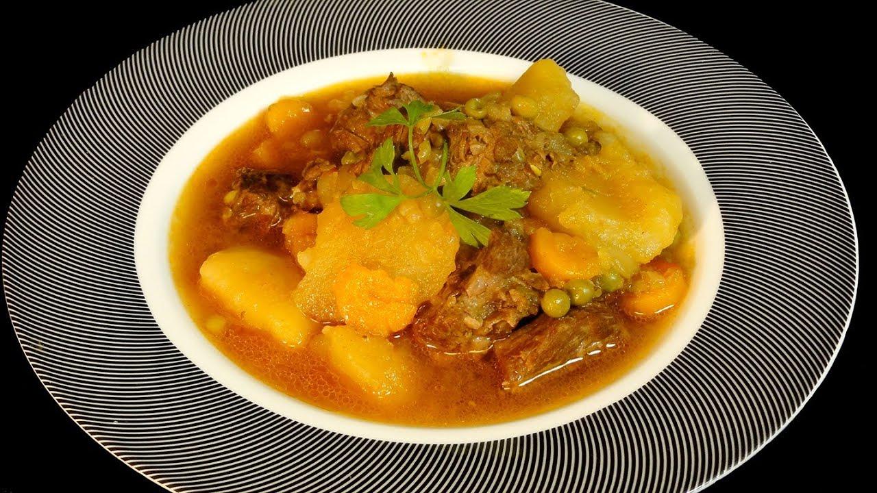 Carne guisada con patatas recetas de carne youtube - Bacalao con garbanzos y patatas ...