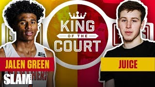 Jalen Green IS A SUPERSTAR Leader of the Unicorn Fam 🦄 | SLAM King of the Court
