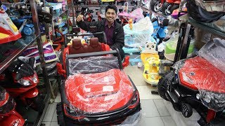 Baby Jeep Car Wholesale Market || Baby Car || Kids Car || Battery Operated Car In Cheap Price In BD
