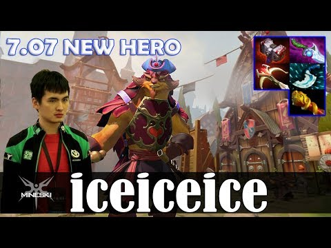 iceiceice - Pangolier Offlane | 7.07 NEW HERO | Dota 2 Pro MMR  Gameplay