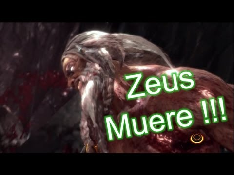 God of war 3 - Guia en español (parte 25) (muerte de zeus) (final) (modo titan)