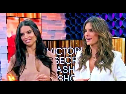 Adriana Lima & Alessandra Ambrosio - On Good Morning America Interview (11-03-2014 )