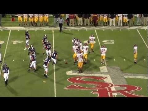 Holy Innocents' Episcopal School Varsity Football vs Strong Rock Christian School, 2012