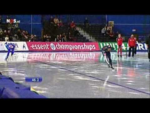 WK Afstanden 2009 1500m mannen - Shani Davis