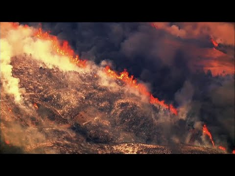 Raw: Thousands Told To Flee Northern Calif. Fire