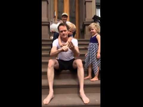 Harris ALS Ice Bucket Challenge How I Met Your Mother 追愛總動員