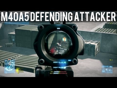 M40A5 MASSACRE - Battlefield 3