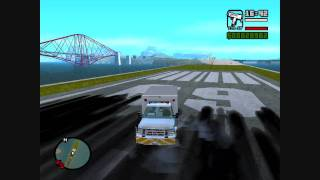 GTA Sa Red County Bomb Squad Van HD