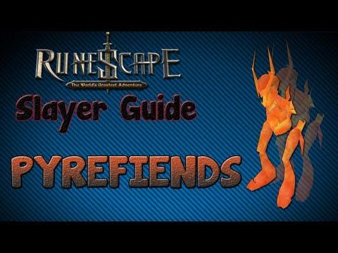 """Runescape 07″ – Slayer guide #14: Pyrefiends!"