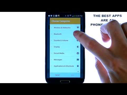 Trigger - Android App Review - NFC Tags - Trigger Phone Setting Changes